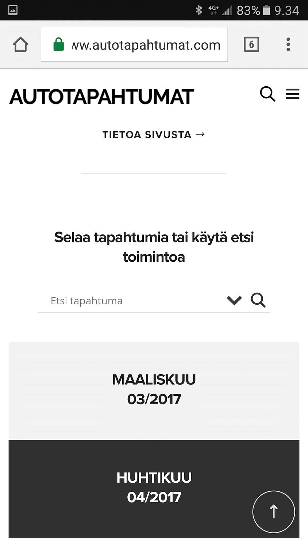 Screenshot_20170311-093458 Etsi autotapahtumaa reaaliajassa sivustolta Uutiset