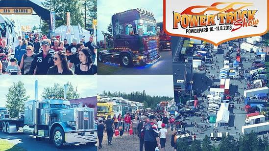 Power Truck Show 2018, Härmä, 10.-11.8.2018